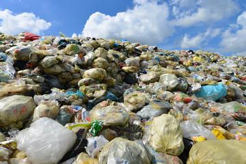 Müllhalde, Deponie, Plastik, Verpackungen, Recycling, Entsorgung