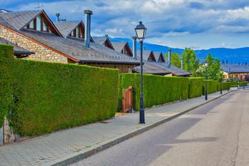 Street in Europe town