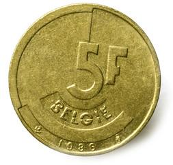 Belgische frank Franc belge Belgischer Franken