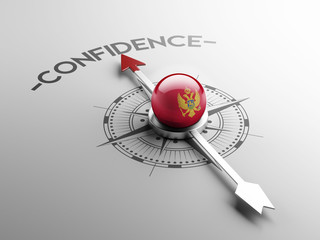 Montenegro. Confidence Concept