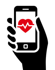 Health tools in smartphone