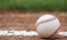 """Постер, картина, фотообои """"Close-up of a baseball"""""""