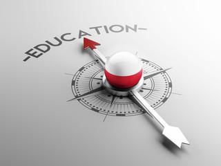 Poland Education Concept