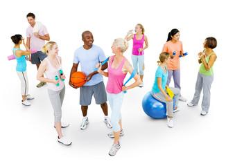 Multi-Ethnic Fitness Group