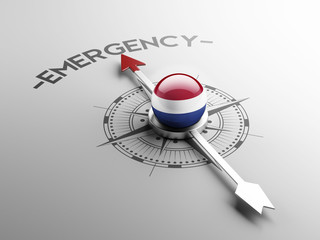 Netherlands Emergency Concept