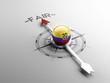 Ecuador Compass Concept