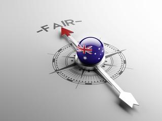 Australia Fair Concept