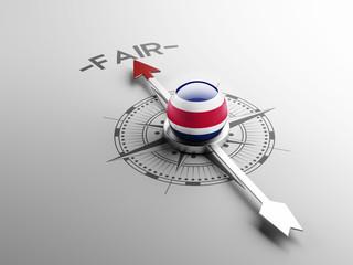 Costa Rica. Fair Concept