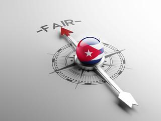 Cuba Fair Concept