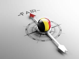Belgium Fair Concept