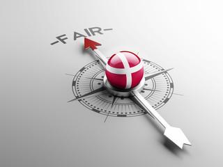 Denmark Fair Concept