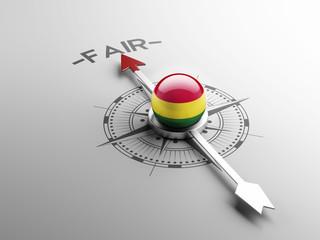Bolivia Fair Concept