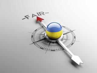 Ukraine Fair Concept