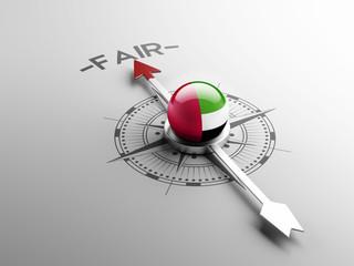 United Arab Emirates. Fair Concept