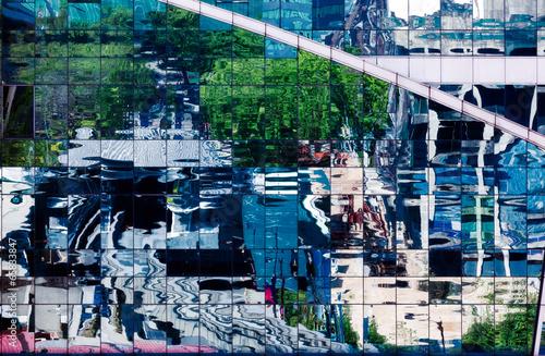 canvas print picture Glassfassade