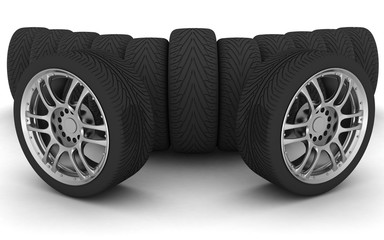 Car Wheels. Concept design.