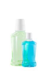 bottles with  mouthwash