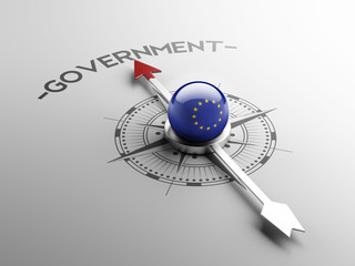 European Union Government Concept
