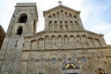 Facciata della Cattedrale di Cagliari