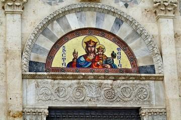 Portale centrale della Cattedrale di Cagliari
