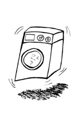 doodle Washing Machine