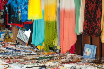 Caribbean souvenir Market