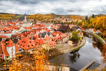 Historical center of Cesky Krumlov