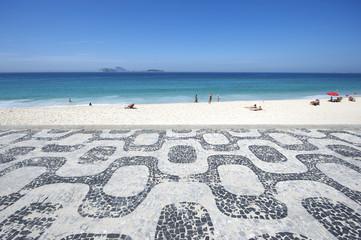 Ipanema Beach Rio de Janeiro Boardwalk Sea View