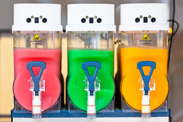 Crushed Ice Drink Dispensers