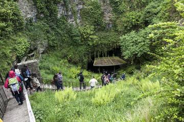 Höhleneingang von Dunmore-Kilkenny, Irland