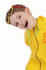 enfant garçon souriant