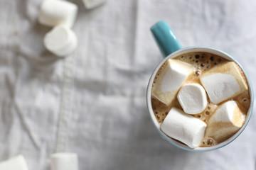 Кофе с зефиром