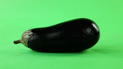 eggplant turning on green screen