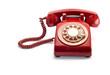 Red Rotary Phone - 65843070