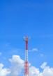The sky. Antenna