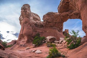 Broken Arch, Arches National Park Moab Utah