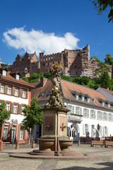 Statue am Kornmarkt Heidelberg