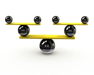 Simple balance icon