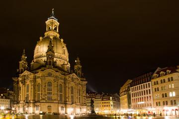 Frauenkirche Dresden, Sachsen, Deutschland