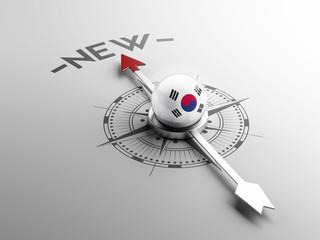 South Korea Compass Concept