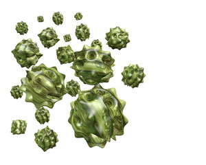 nanopartikel 3D grafik