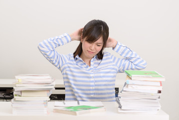 猛勉強中の大学生