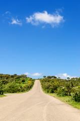 Strada di campagna, Sardegna