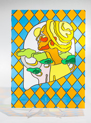 Stained glass - woman