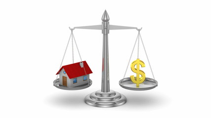 Change real estate prices