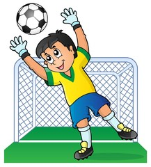 Soccer theme image 3