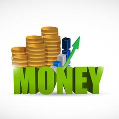 money concept illustration design