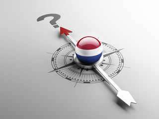 Netherlands Question Mark Concept