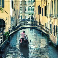 pictorial Venetian canal