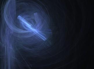 煙と光のイメージの背景素材
